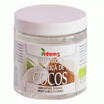 Ulei de cocos ecologic -presat la rece 200 ml ADAMS SUPPLEMENTS