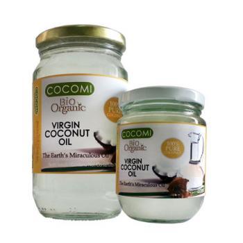 Ulei de cocos extravirgin bio 225 ml COCOMI