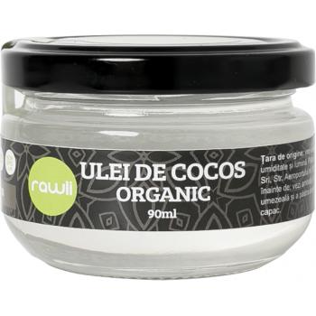 Ulei de cocos extravirgin eco 90 ml RAWLI
