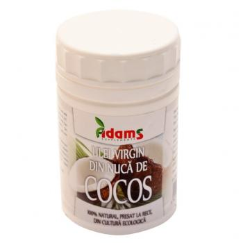 Ulei de cocos virgin ecologic  500 ml ADAMS SUPPLEMENTS
