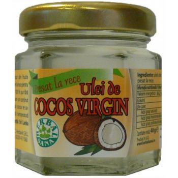 Ulei de cocos-virgin 35 ml HERBALSANA