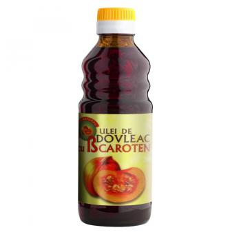 Ulei de dovleac pepon cu  beta-caroten 250 ml PARAPHARM