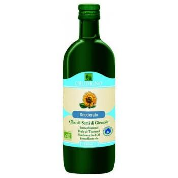 Ulei de floarea soarelui dezodorizat bio 1 ml CRUDIGNO