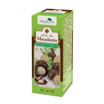 Ulei de macadamia extravirgin 30 ml TRANSVITAL