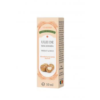 Ulei de macadamia presat la rece 10 ml VERRE DE NATURE