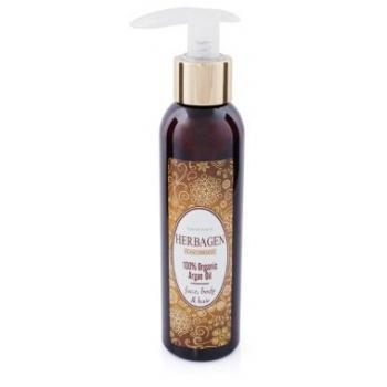 Ulei de masaj argan 100% organic 150 ml HERBAGEN