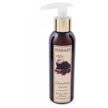 Ulei de masaj chocolate dream 150 ml HERBAGEN