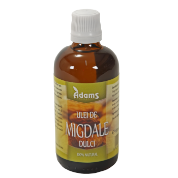 Ulei de migdale dulci 100 ml ADAMS SUPPLEMENTS