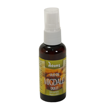 Ulei de migdale dulci 50 ml ADAMS SUPPLEMENTS