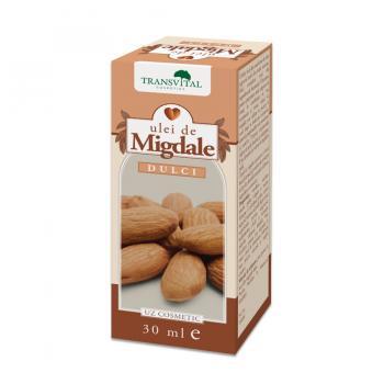 Ulei de migdale dulci 30 ml TRANSVITAL