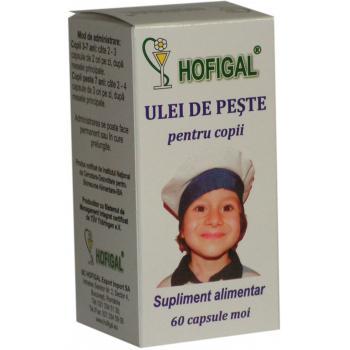 Ulei de peste pentru copii 60 cps HOFIGAL