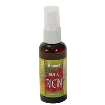 Ulei de ricin 50 ml ADAMS SUPPLEMENTS