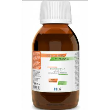 Ulei de ricin cu vitamina a  100 ml TIS
