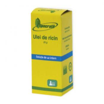 Ulei de ricin 20 ml HIPOCRATE