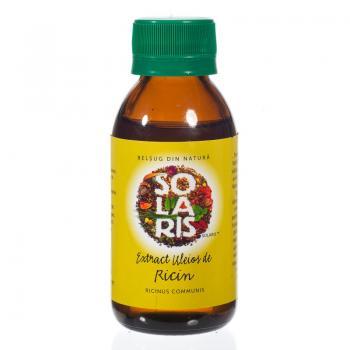 Ulei de ricin 100 ml SOLARIS