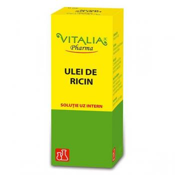 Ulei de ricin 20 ml VITALIA - VIVA