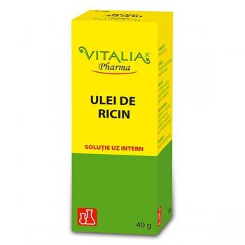 Ulei de ricin 40 ml VITALIA - VIVA