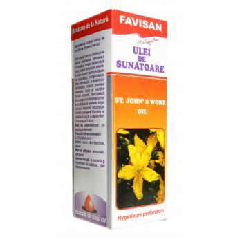 Ulei de sunatoare g001 30 ml FAVISAN