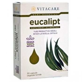 Ulei esential de eucalipt 30 cps VITACARE