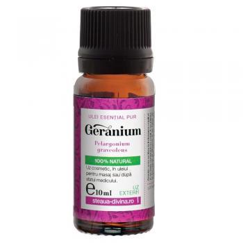 Ulei esential de geranium 10 ml STEAUA DIVINA