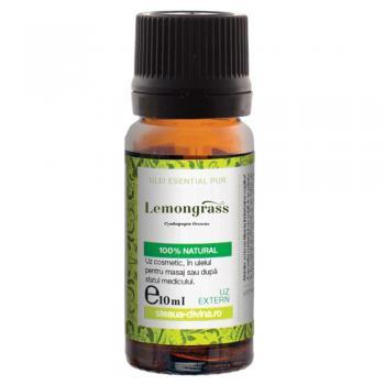 Ulei esential de lemongrass 10 ml STEAUA DIVINA