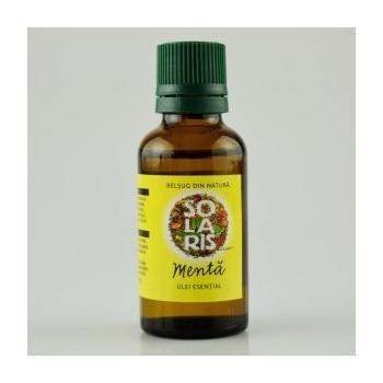 Ulei esential de menta 30 ml SOLARIS