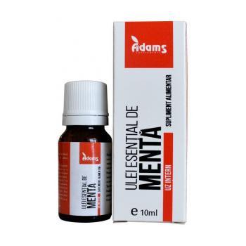 Ulei esential de menta-uz intern 10 ml ADAMS SUPPLEMENTS