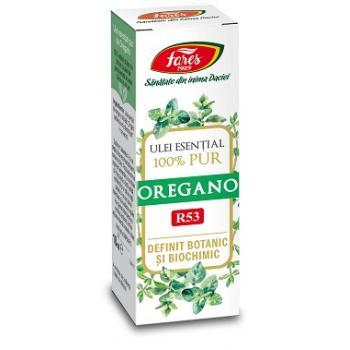 Ulei esential de oregano r53 10 ml FARES