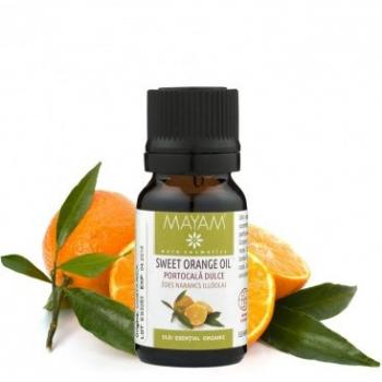 Ulei esential de portocala dulce bio 10 ml MAYAM