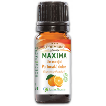 Ulei esential de portocala dulce uz intern 10 ml MAXIMA