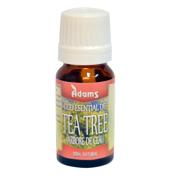 Ulei esential de tea tree 10 ml ADAMS SUPPLEMENTS