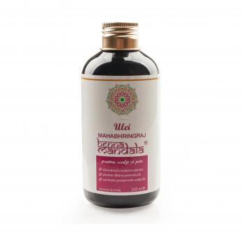 Ulei mahabhringaj pentru scalp si par 200 ml HENNA MANDALA