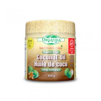 Ulei organic virgin din nuca de cocos 454 ml ORGANIKA