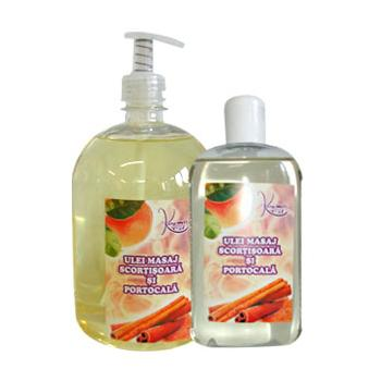 Ulei pentru masaj cu scortisoara si portocala 250 ml KOSMO OIL