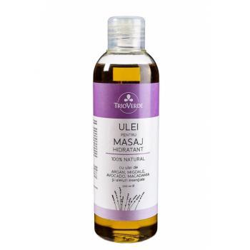 Ulei pentru masaj hidratant 100% natural 200 ml TRIO VERDE