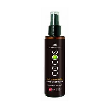 Ulei plaja cocos spf 6 cu ulei de cocos bio 150 ml COSMETIC PLANT