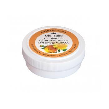 Unguent cu extract de galbenele, ulei de masline si morcov 20 gr COSMETIC PLANT