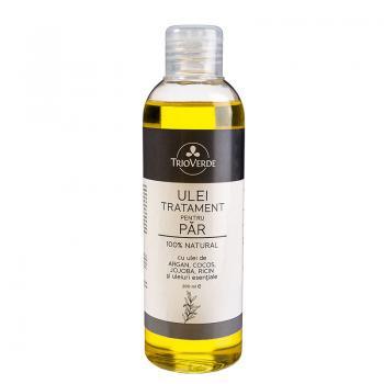 Ulei tratament pentru par 100% natural 200 ml TRIO VERDE