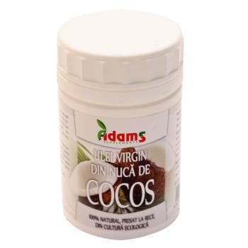 Ulei virgin de cocos 250 gr ADAMS SUPPLEMENTS