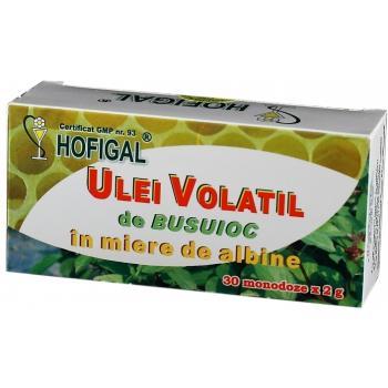 Ulei volatil de busuioc in miere de albine 30 cps HOFIGAL
