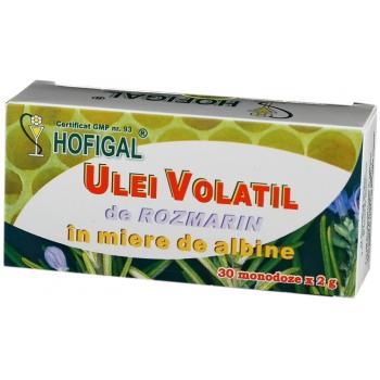 Ulei volatil de rozmarin in miere de albine 30 cps HOFIGAL