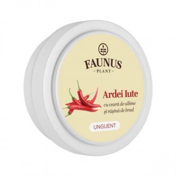 Unguent cu ardei iute 20 ml FAUNUS PLANT