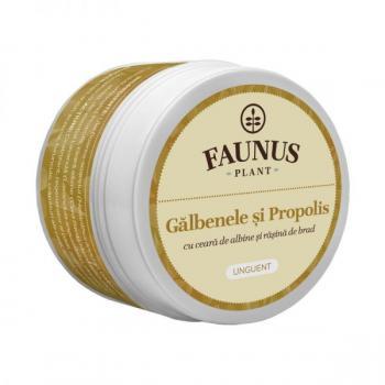 Unguent cu galbenele si propolis 50 ml FAUNUS PLANT