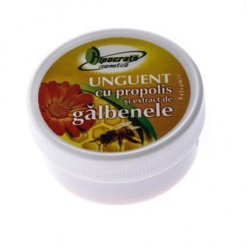 Unguent cu propolis si extract de galbenele 20 ml HIPOCRATE