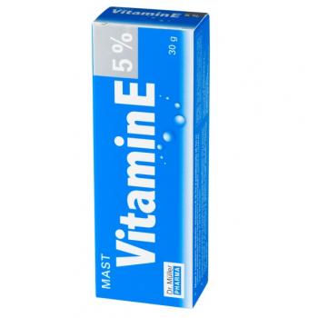 Unguent cu vitamina e 5% 30 ml DR MULLER