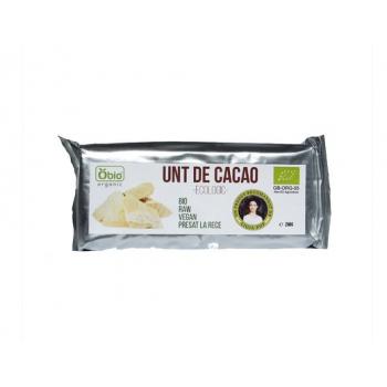 Unt de cacao criollo raw bio 250 gr OBIO
