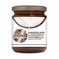 Unt de cocos tartinabil cu ciocolata cocobella bio