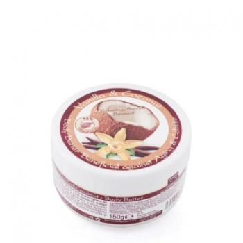 Unt de corp cu vanilie si cocos 150 ml HERBAGEN