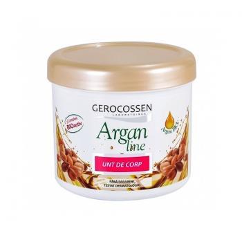 Unt de corp luxuriant cu ulei de argan, unt de shea, ulei de migdale si ceara de albine 450 ml GEROCOSSEN