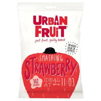 Urban fruit, capsuni uscate 35 gr UNICORN NATURALS